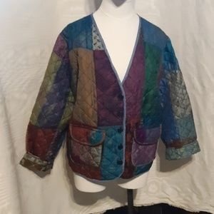 Sacred Threads Quilted Jacket